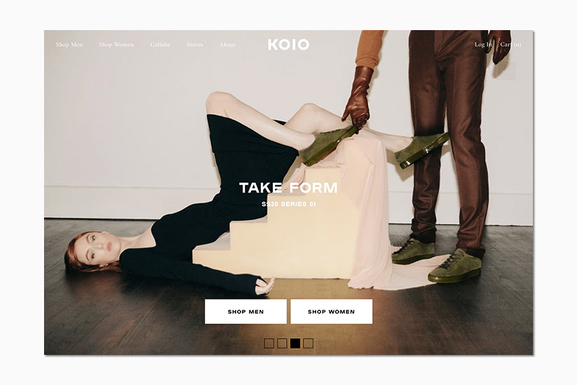 best women online shopping sites koio - Luxe Digital