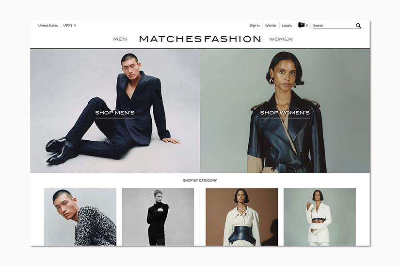 best women online shopping sites matchesfashion - Luxe Digital