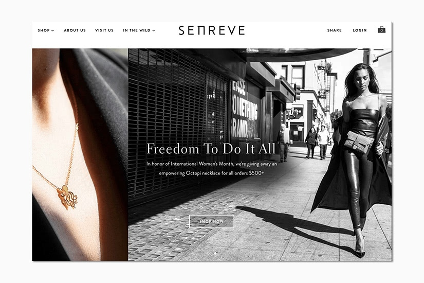 best women online shopping sites senreve - Luxe Digital