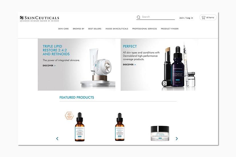 best women online shopping sites skinceuticals - Luxe Digital