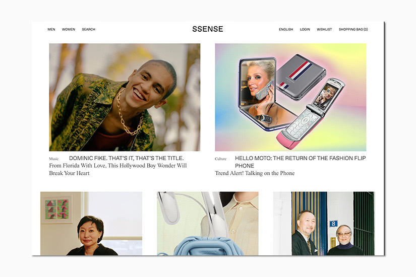 best women online shopping sites SSENSE - Luxe Digital