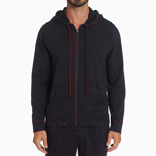 men loungewear style hoodie Robert Graham - Luxe Digital