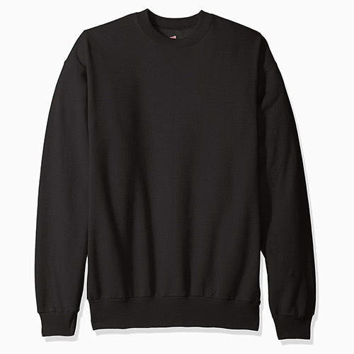 men loungewear style sweatshirt Hanes - Luxe Digital