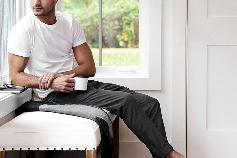 men loungewear style work from home - Luxe Digital
