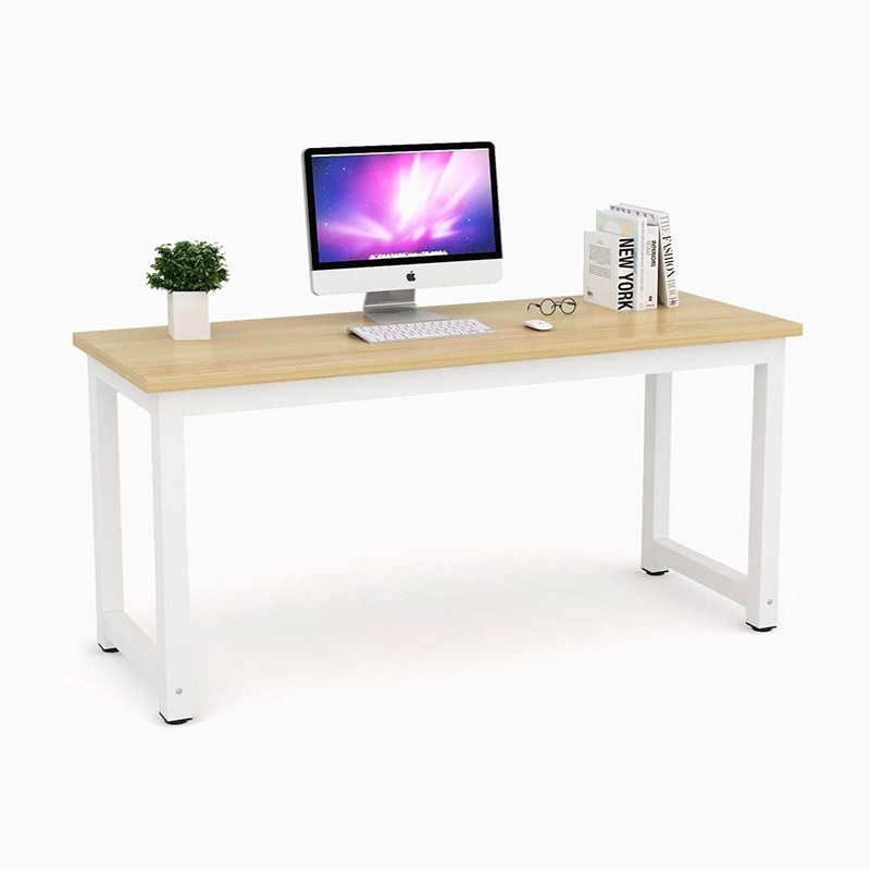 best home office setup desk Tribesigns - Luxe Digital