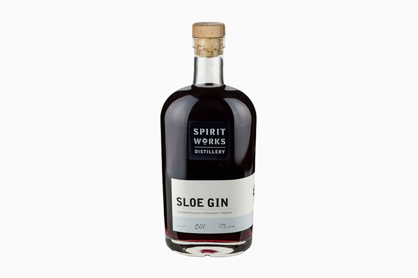best gin brands spirit works sloe - Luxe Digital