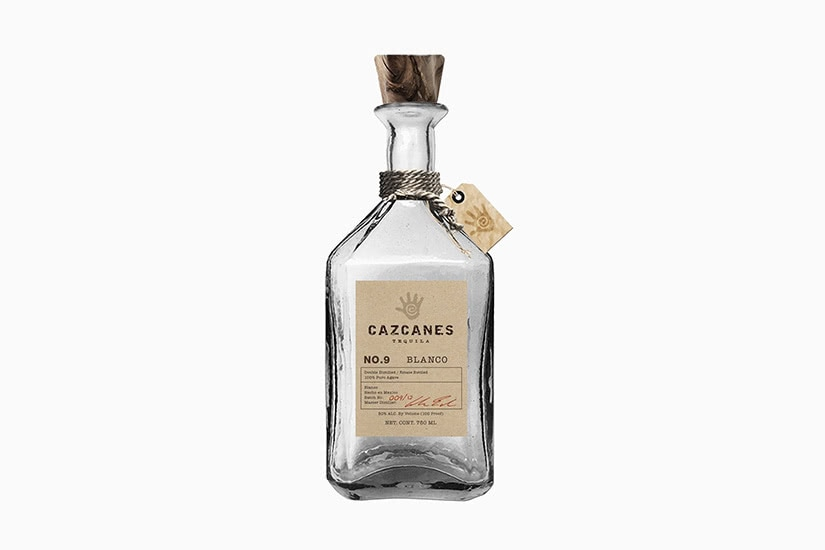 best tequila brands cazcanes no. 9 blanco - Luxe Digital