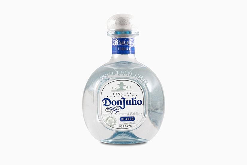 best tequila brands don julio blanco - Luxe Digital