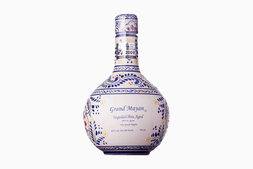 best tequila brands grand mayan ultra aged anejo - Luxe Digital