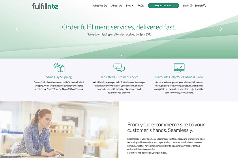 how to start online business Fulfillrite order fulfilment - Luxe Digital