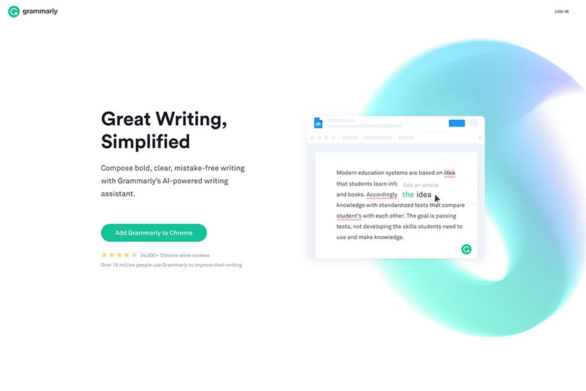 how to start online business Grammarly copywriting - Luxe Digital