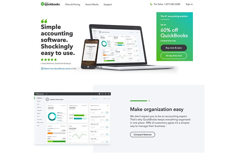 how to start online business Quickbooks accounting - Luxe Digital