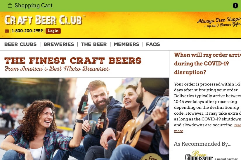 where buy alcohol online craft beer club - Luxe Digital