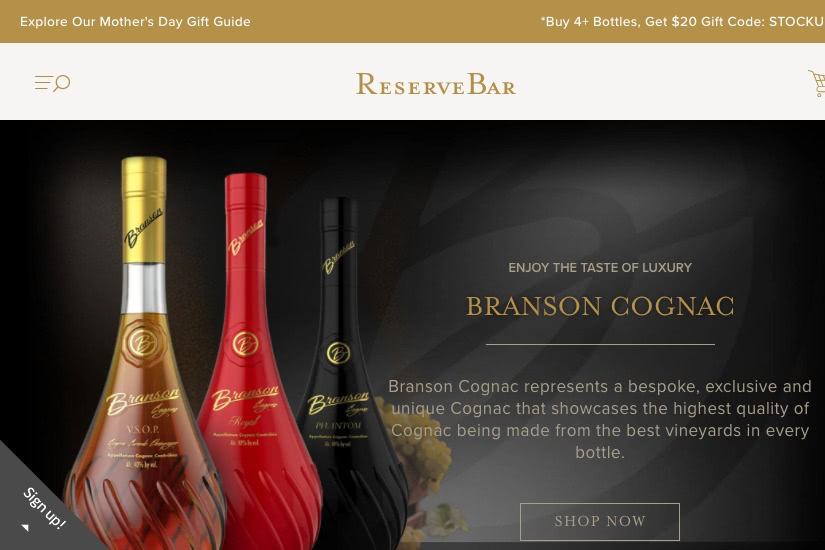 where buy alcohol online reservebar - Luxe Digital