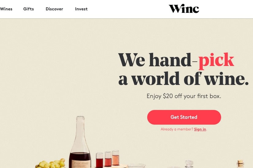 where buy alcohol online winc - Luxe Digital