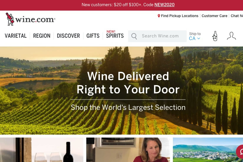 where buy alcohol online wine.com - Luxe Digital