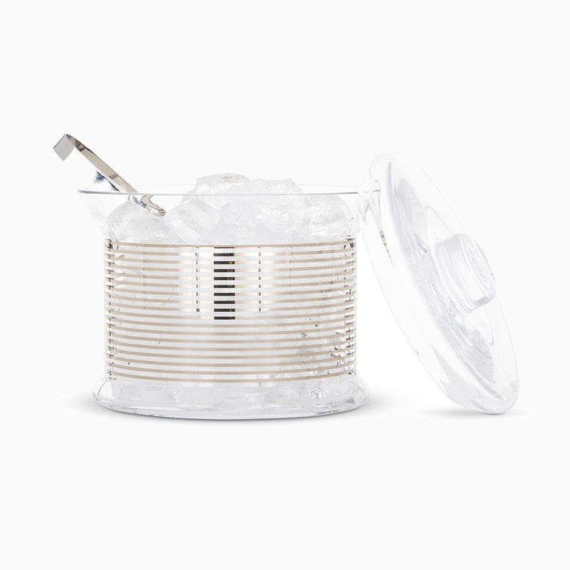 Tom Dixon accessories tank platinum ice bucket - Luxe Digital