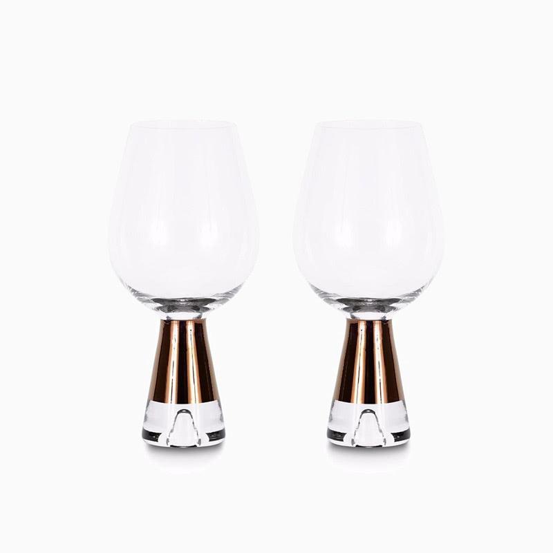 Tom Dixon accessories tank wine glass - Luxe Digital