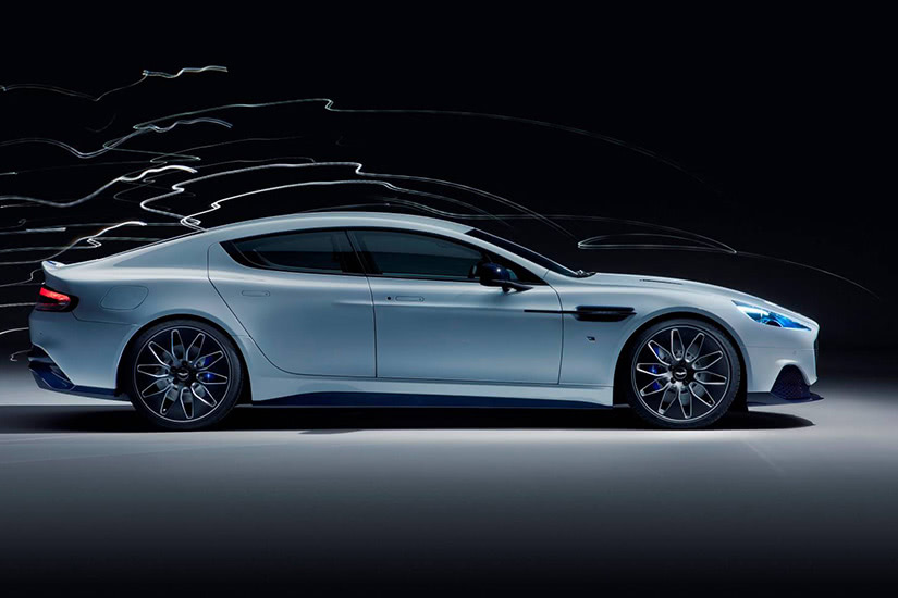 best electric cars luxury aston martin rapide e - Luxe Digital
