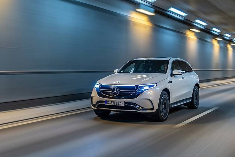 best electric cars luxury mercedes-benz eqc - Luxe Digital