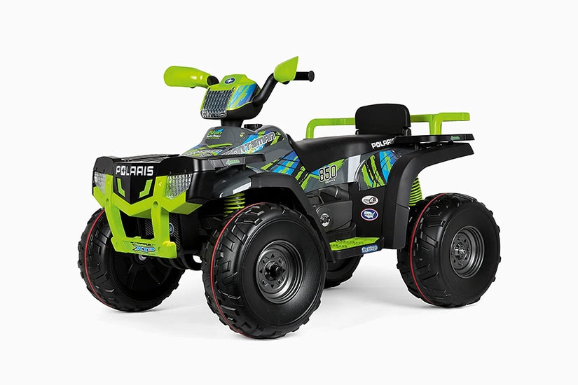 best electric cars kids polaris sportsman 24v battery powered ride-on premium - Luxe Digital