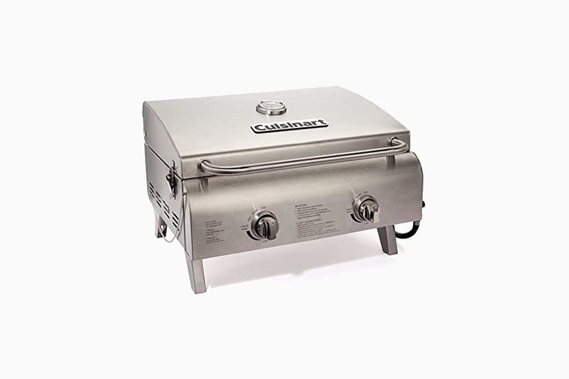 best grill barbecue small size under 200 cuisinart CGG-306 premium - Luxe Digital