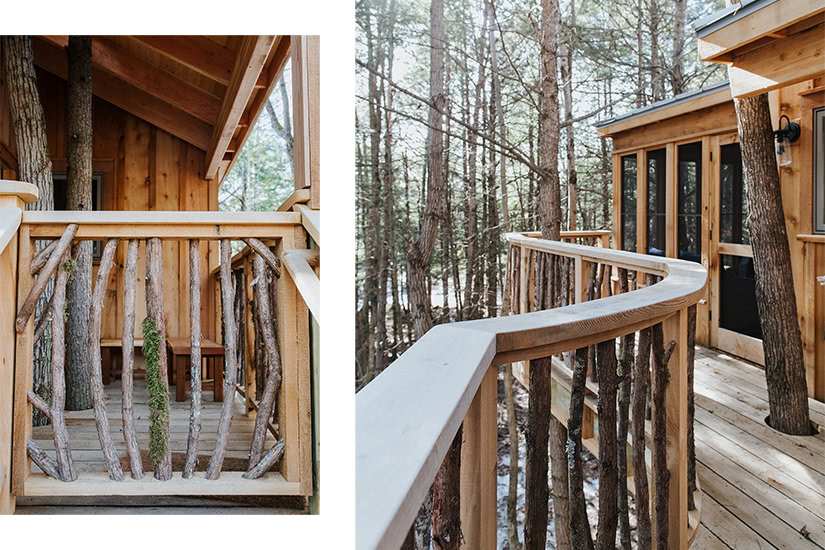 the woods maine treehouse outdoor luxury - Luxe Digital