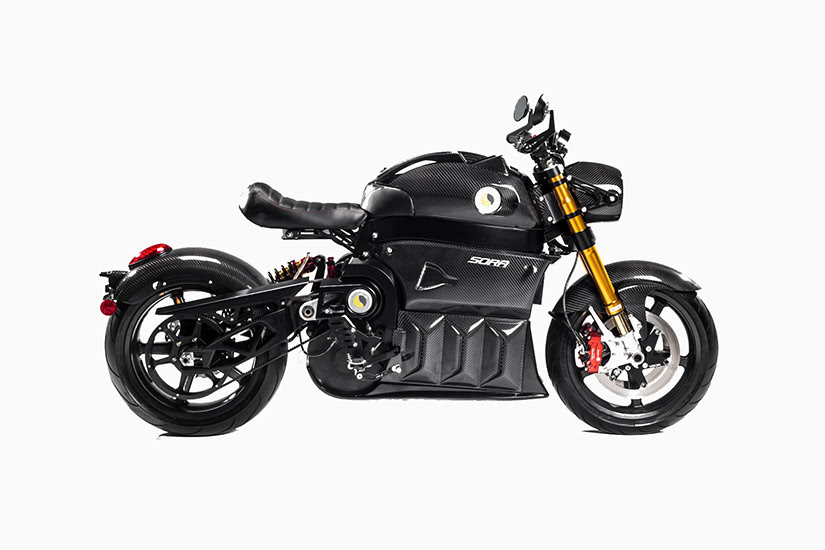 best electric motorcycles lito sora generation 2 - Luxe Digital