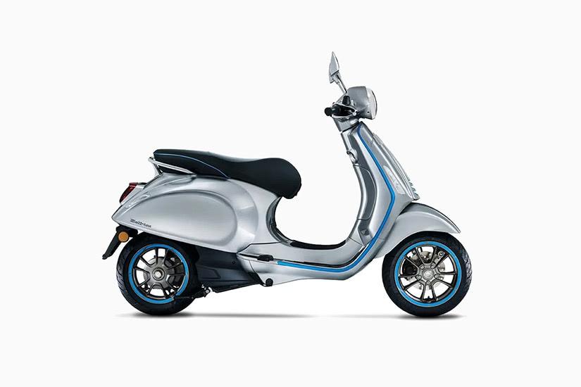 best electric motorcycles vespa elettrica - Luxe Digital