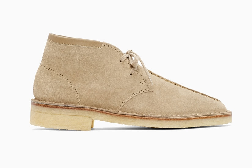 best desert boots men chukka sophisticated lemaire taupe suede - Luxe Digital
