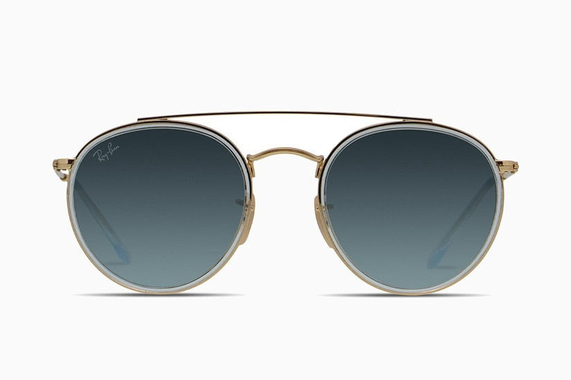 best sunglasses men retro ray-ban double bridge - Luxe Digital