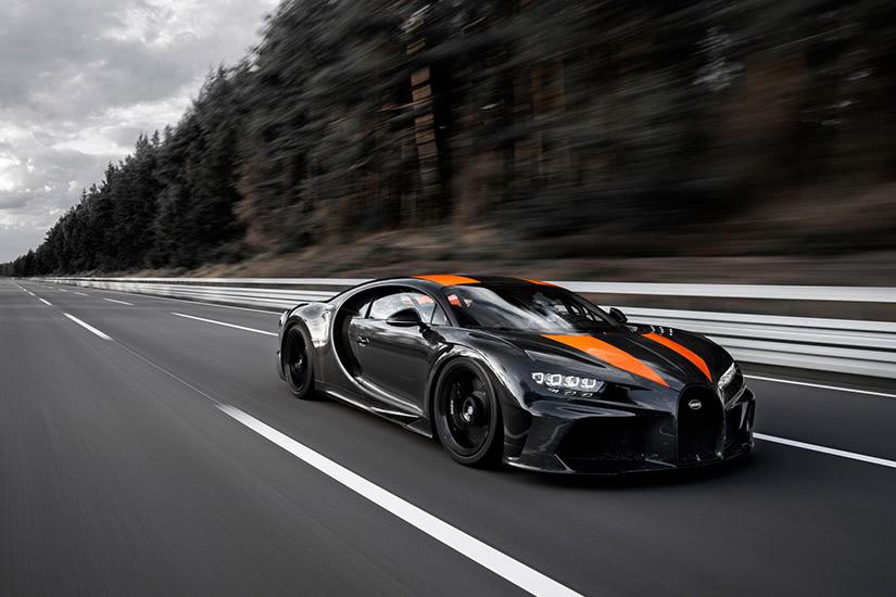 fastest cars in the world Bugatti Chiron Super Sport - Luxe Digital