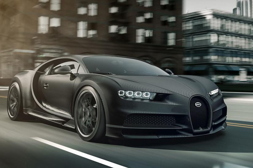 fastest cars in the world Bugatti La Voiture Noire - Luxe Digital