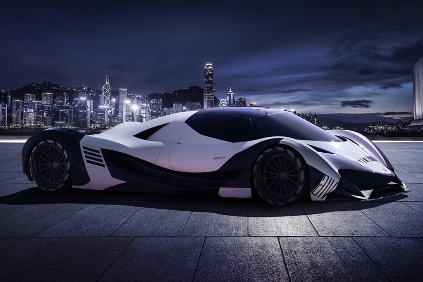 fastest cars in the world Devel Sixteen - Luxe Digital