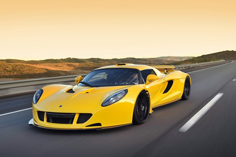 fastest cars in the world Hennessey Venom - Luxe Digital