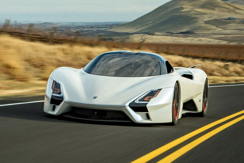fastest cars in the world SSC Tuatara - Luxe Digital