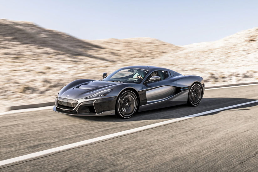 fastest cars in the world Rimac Concept Two - Luxe Digital
