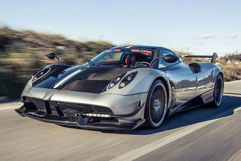 fastest cars in the world Pagani Huayra BC - Luxe Digital