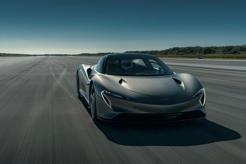 fastest supercars in the world McLaren Speedtail - Luxe Digital