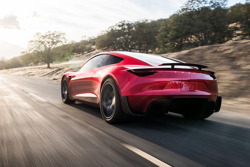 fastest cars in the world Tesla Roadster - Luxe Digital
