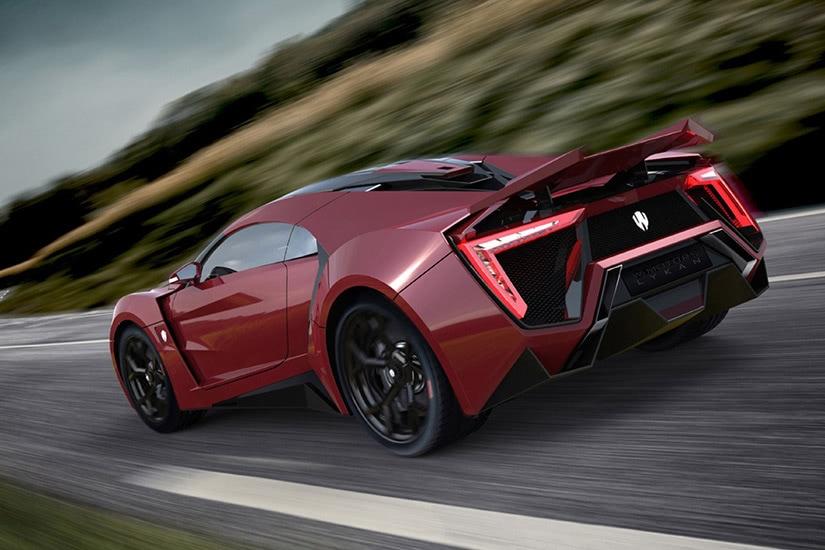 fastest cars in the world Lykan Hypersport - Luxe Digital