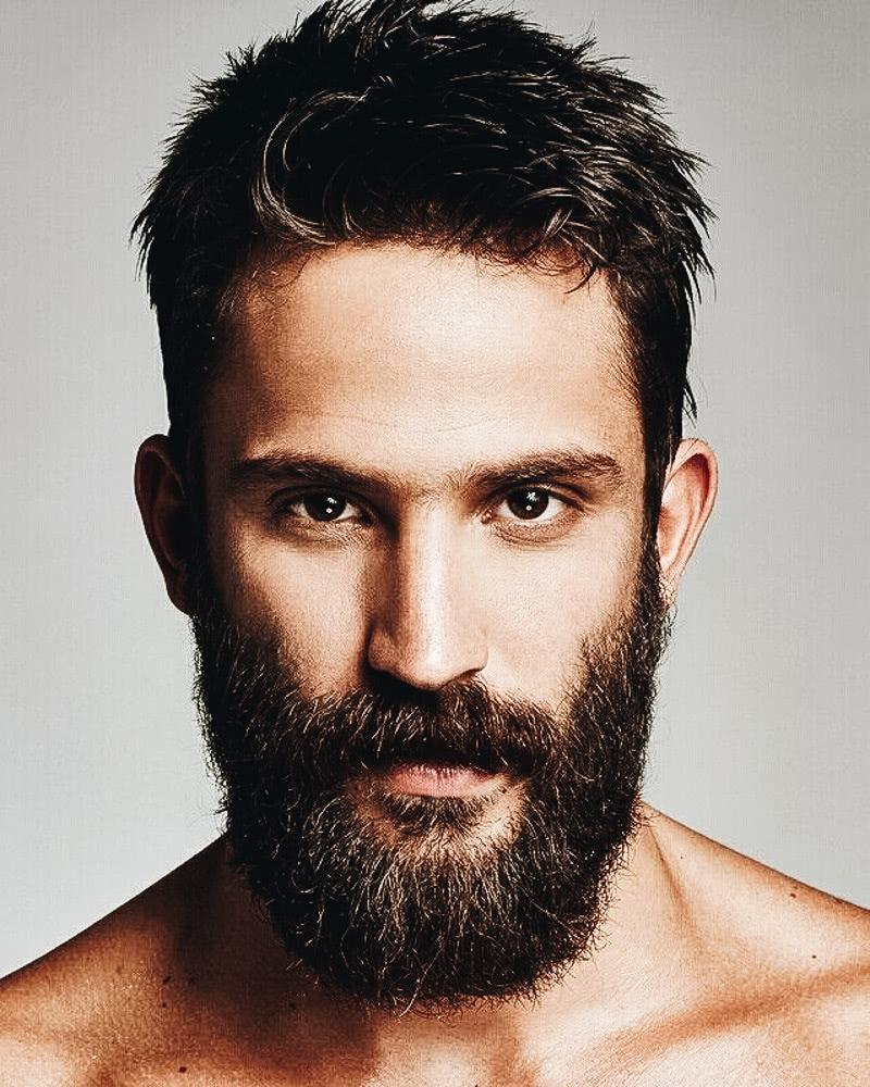 best short haircuts men classic caesar cut - Luxe Digital