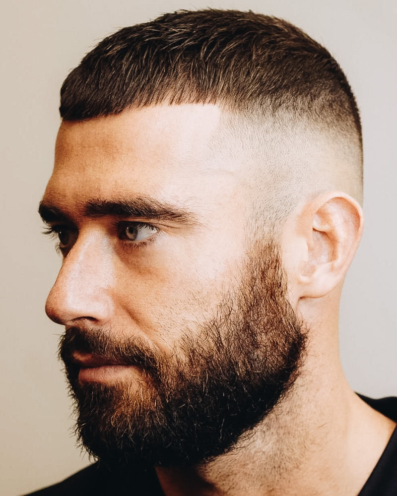 best short haircuts men classic french crop - Luxe Digital