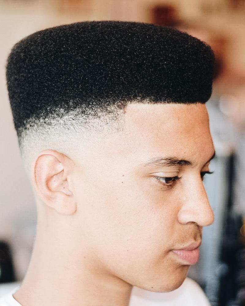 best short haircuts men flat top - Luxe Digital