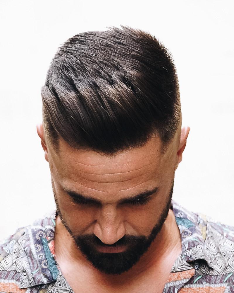 best short haircuts men french crop high fade - Luxe Digital