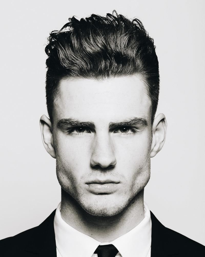 best short haircuts men high top fade - Luxe Digital