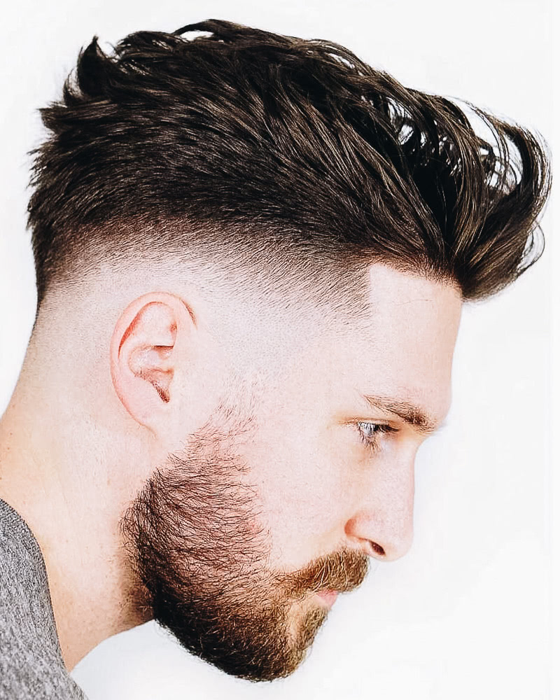 best short haircuts men high top fauxhawk - Luxe Digital