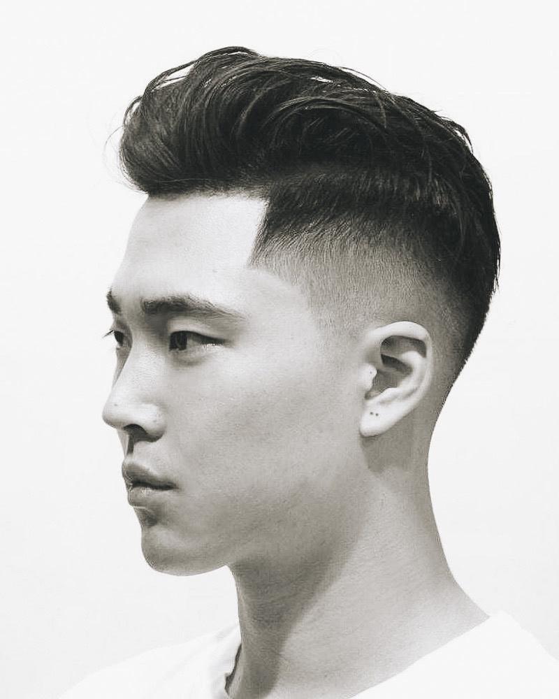 best short haircuts men low fade - Luxe Digital
