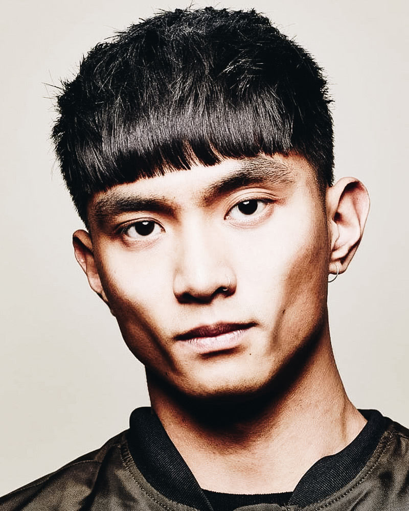 best short haircuts men messy undercut bangs - Luxe Digital