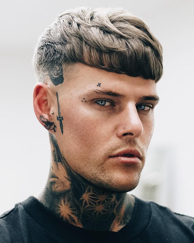 best short haircuts men modern bowl cut - Luxe Digital